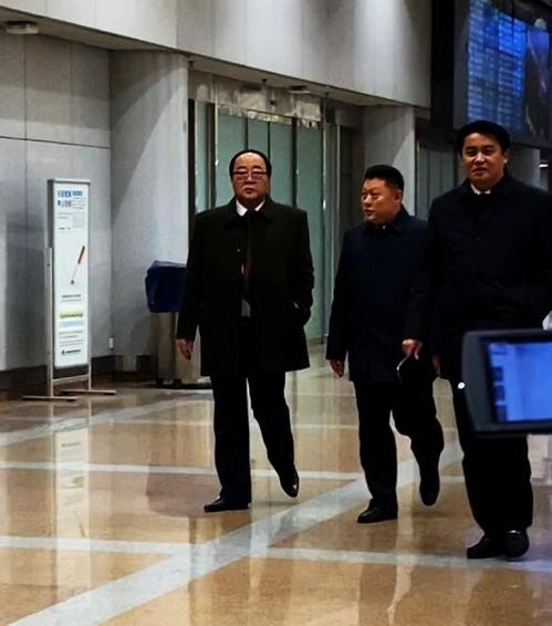 김영재 北대외경제상 시리아행…베이징공항서 목격(종합)