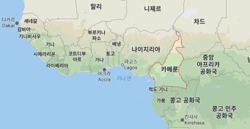 카메룬서 민간인 21명 무장단체 보코하람에 피랍