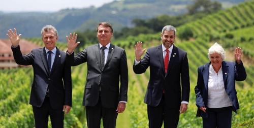 """남미공동시장, 브라질서 정상회의…""""EU·EFTA와 FTA 신속 체결"""""""