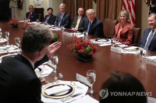 독일 유엔대사, 트럼프 오찬서 유엔 대북제재 역할 중요