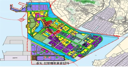 인천 신항 배후단지에 국내 최대 저온복합물류센터 추진