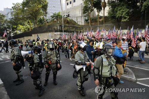 """한은 """"홍콩인권법 둘러싼 미중 갈등, 中경제에 추가 위험요인"""""""