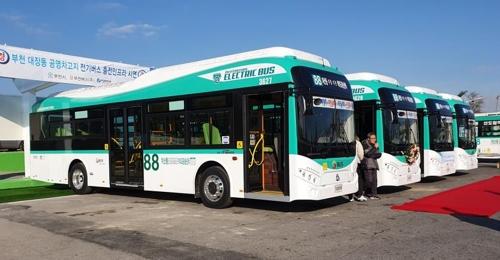 [부천소식] 부천시, 전기버스 10대 운영…연내 33대 추가 투입