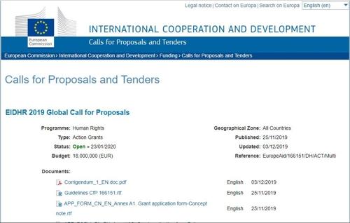 EU, 세계 인권증진 사업공모…기금지원 대상국에 북한 포함
