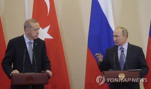 푸틴·에르도안, '투르크 스트림' 개통 계기 내달 정상회담