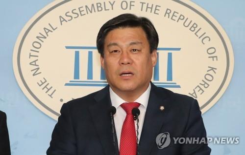 """한국당 김선동 """"재선 원내대표가 당 살리는 길""""…공식 출마선언"""