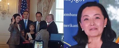 '미주한인 첫 여성대사' 유리 김 알바니아주재美대사 부임