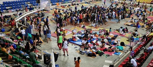 세이브더칠드런, 필리핀 '화산 폭발' 아동에 3만 달러 지원