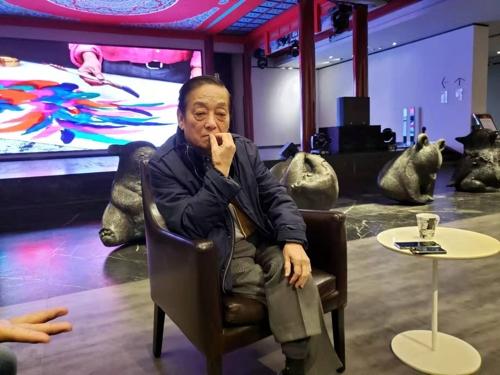 """'중국 예술의 전설' 한메이린 """"한국서 현대미술전 계획"""""""