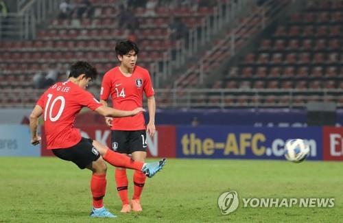 AFC U-23 한국-요르단전 생중계 시청률 6.76%