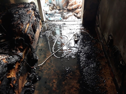 용인 수지 20층 아파트서 불…주민 1명 중상