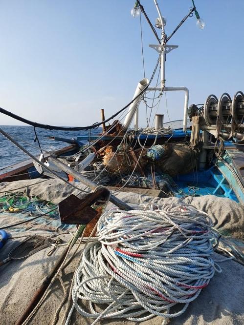 울산 앞바다서 어선·상선 충돌…인명피해 없어