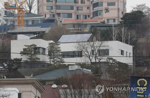 표준단독 공시가 부동의 1위 신세계 이명희 회장 한남동 자택