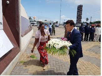 [게시판] 광복회, 모잠비크 유공자 후손 방한 연수
