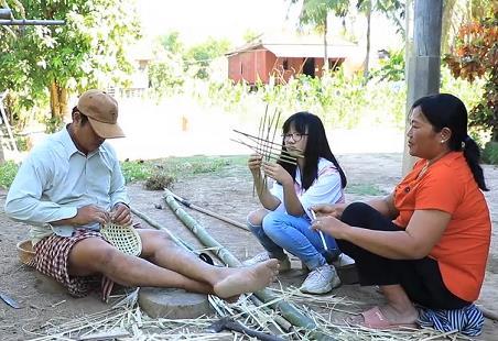 방송과 동화책으로 만나는 '다문화소녀의 캄보디아 외가 방문기'