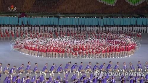 """고려투어 """"북한, 올해 광복절·당창건일에 대집단체조 공연"""""""