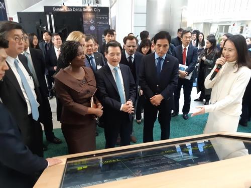 세계은행 로비 채운 한국 기술…'한국혁신주간' 행사