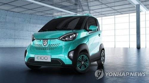 GM, 중국에 첫 완전 전기차 출시…테슬라에 도전장