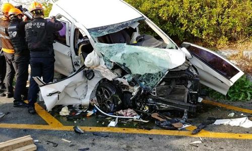 비보호 좌회전 도로 구간서 차량 2대 충돌…운전자 2명 경상