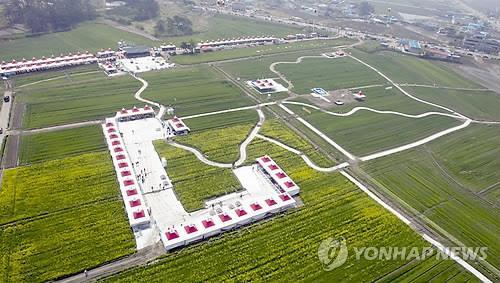 """'군산 꽁당보리축제'도 취소…""""관광객.."""