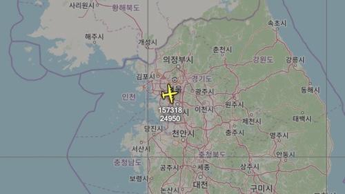 미 해군 정찰기, 이틀 만에 수도권 상공 비행…대북 감시