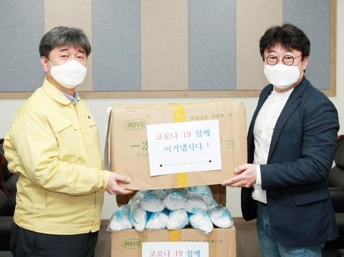 청주대 중국인 유학생, 학교에 마스크 1만5천장 기부