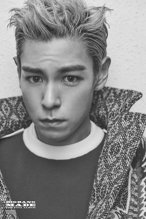 En la imagen, proporcionada, el 13 de diciembre de 2016, por YG Entertainment, se muestra al cantante T.O.P de Bigbang.