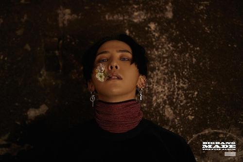 En la imagen, proporcionada, el 13 de diciembre de 2016, por YG Entertainment, se muestra al líder de la banda, G-Dragon.