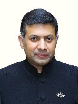 En la imagen, proporcionada, el 18 de enero de 2017, por la Embajada de la India ante Corea del Sur, se muestra al enviado indio, Vikram Doraiswami.