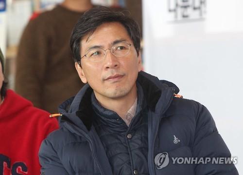 Ahn Hee-jung, gobernador de la provincia de Chungcheong del Sur (foto de archivo)