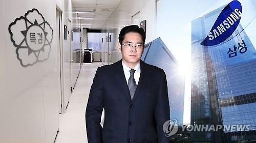 El líder de facto y heredero del Grupo Samsung, Lee Jae-yong