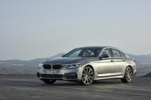 La nueva serie 5 de BMW (foto cortesía de BMW Korea)