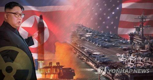Envía EUA portaaviones hacia la Península de Corea