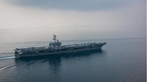 El portaaviones nuclear estadounidense USS Carl Vinson (foto de archivo)