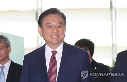 El enviado especial ante EE. UU., Hong Seok-hyun (foto de archivo)