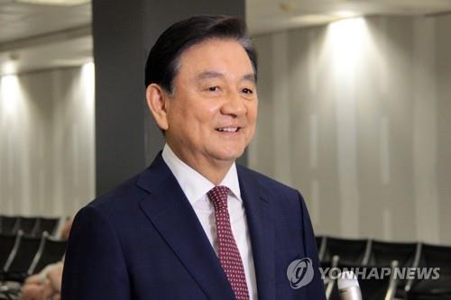 Hong Seok-hyun, enviado especial del presidente de Corea del Sur, Moon Jae-in (foto de archivo)
