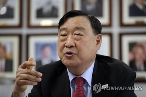 Lee Hee-beom, presidente del POCOG (foto de archivo)