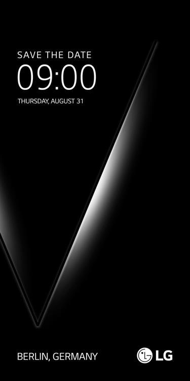 Póster del que se presume será el nuevo teléfono inteligente V30