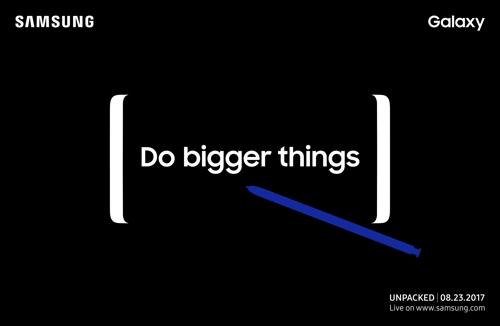 Confirmado: Galaxy Note 8 será presentado el 23 de agosto