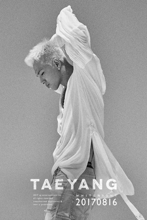 """En la imagen se muestra el nuevo álbum de Taeyang, """"White Night"""""""