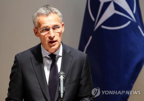 El jefe de la Organización del Tratado del Atlántico Norte (OTAN), Jens Stoltenberg (foto de archivo) (AP-Yonhap)