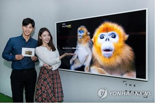 """El televisor de Samsung, """"The Frame"""" (foto de archivo)"""