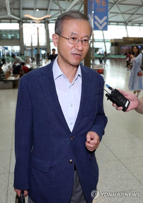 Lim Sung-nam, viceministro de Asuntos Exteriores de Corea del Sur (Foto de archivo)