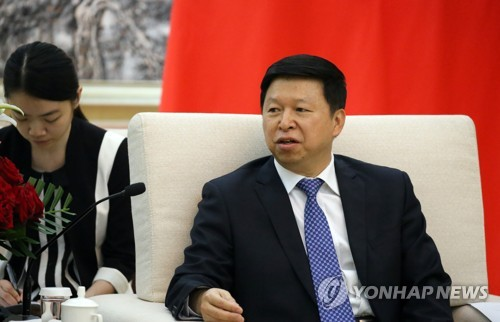 Song Tao, jefe del departamento internacional del Comité Central del Partido Comunista de China (foto de archivo)
