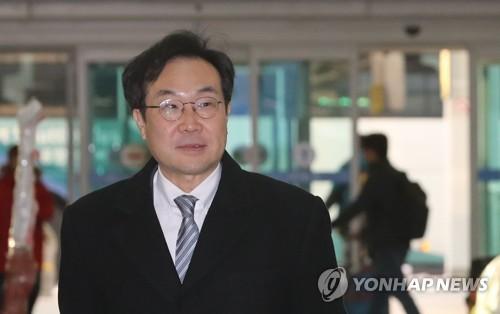 Lee Do-hoon, representante especial de Corea del Sur para las cuestiones de paz y seguridad en la península coreana (foto de archivo)