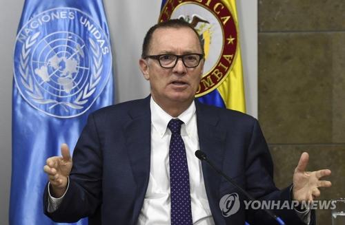 Jeffrey Feltman, secretario general adjunto de asuntos políticos de la ONU (AFP-Yonhap)
