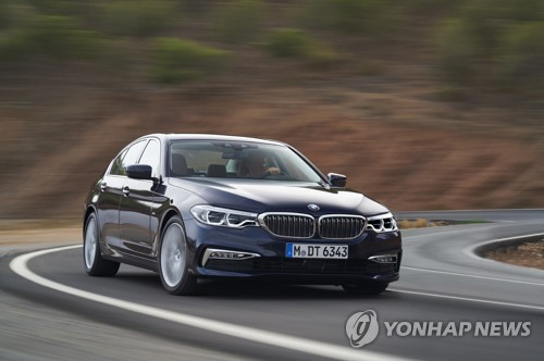 El sedán 520d de BMW (foto de archivo)