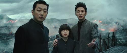 """En la imagen, proporcionada por Lotte Entertainment, se muestra una escena de """"Junto a los dioses: Los dos mundos"""" (Along With the Gods: The Two Worlds)."""