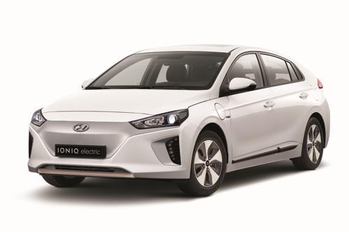 La fotografía de archivo muestra el Ioniq VE de Hyundai Motor Co.