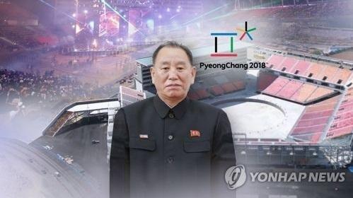 El fotomontaje muestra a Kim Yong-chol, jefe del Departamento del Frente Unido del gubernamental Partido de los Trabajadores de Corea del Norte.